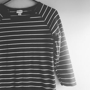 3/4 Sleeve Striped Dress - Size XS