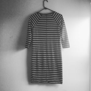 Merona Dresses - 3/4 Sleeve Striped Dress - Size XS