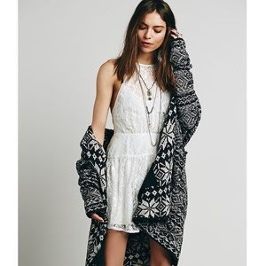 🔥 Free People Lace Ice Blue Dress