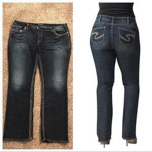 "Silver Jeans Denim - Silver Jeans ""Tuesday"" Size 24 Plus"