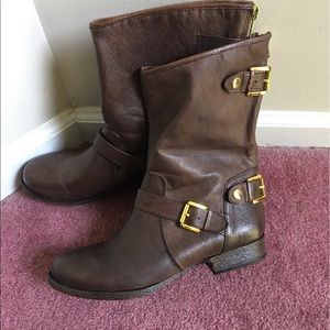 Steve Madden new brown boots