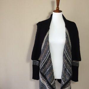 Kensie Sweaters - {Kensie} 'Fair Isle' Oversized Cardigan