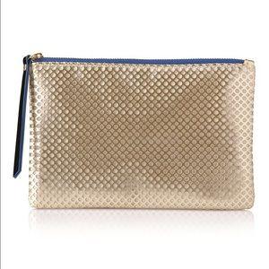 Mary Kay Gold makeup bag