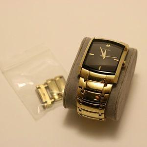 Men's Gold Fossil Watch