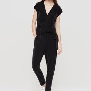 Lou & Grey Dresses & Skirts - Lou & Grey Blue Cotton Cross Front Jumpsuit!