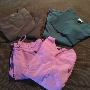 Landau Pants - 3 scrub sets size M tops S in pants, like new