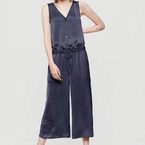 Lou & Grey Dresses & Skirts - Lou & Grey Washed Silk Culotte Jumpsuit!