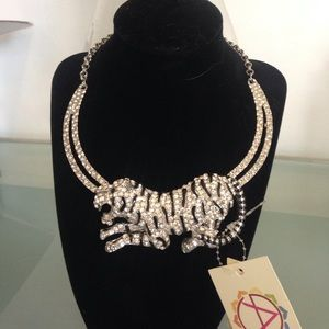 Amrita Singh Jewelry - SALE NWT Amrita Singh leopard statement necklace