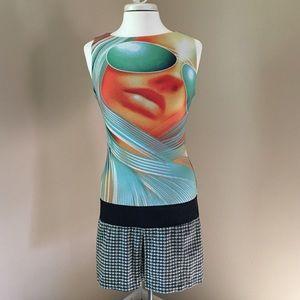 Custo Barcelona Dresses & Skirts - ✨HP✨ Custo Barcelona Mod Body-con Mini-Dress