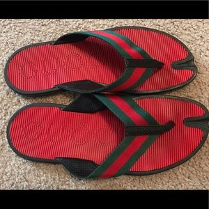 Gucci Other - LIKE NEW Gucci Men's Thong Sandals