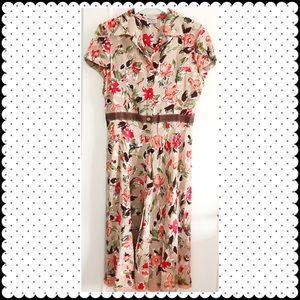 Philosophy di Alberta Ferretti Dresses & Skirts - Philosophy di Alberta Ferretti silk floral dress