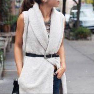Lou & Grey Sweaters - Lou & Grey Cloud Boucle Tie Vest!