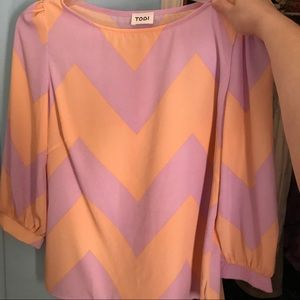 Chevron Tobi Top