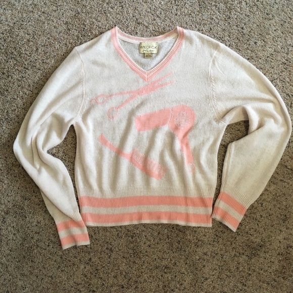 Wildfox white label beauty sweater