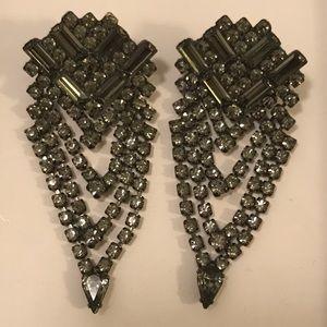 DANNIJO Jewelry - DANNIJO statement crystal earrings brand new