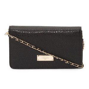 BCBG Handbags - ✨NWT✨ BCBG Black & Gold Crossbody Bag
