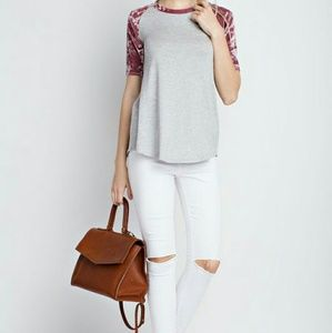 12 PM by Mon Ami Tops - SALE Touch of Velvet Top