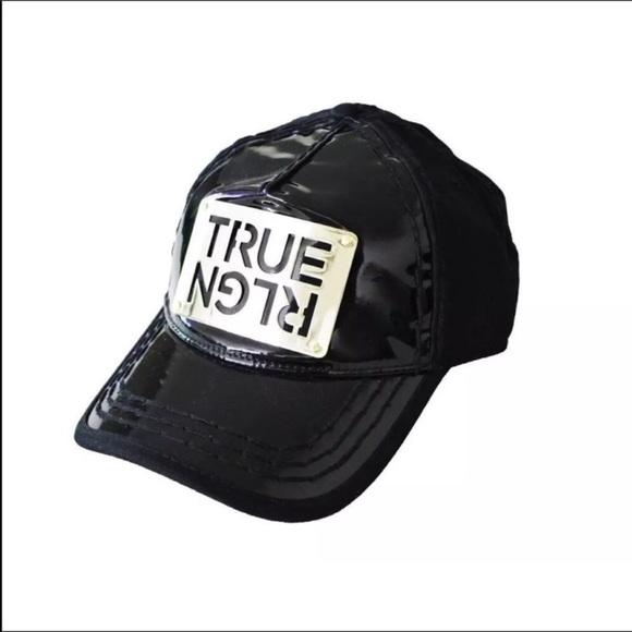 292e572d True Religion Accessories | New Unisex Black Hat Cap | Poshmark