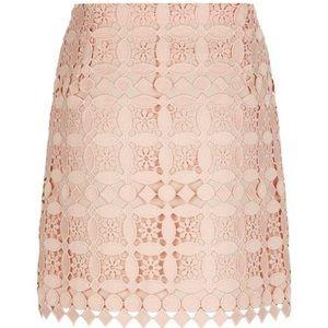 Sandro geometric Lace skirt 1 XS