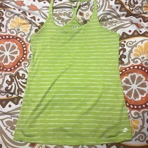 Workout Tank Green size: medium