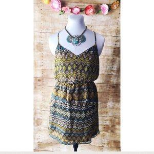 Greylin Dresses & Skirts - NEW Greylin Tribal Print Razorback Dress