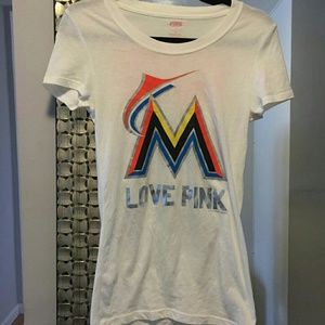 VS PINK Miami Marlins tee