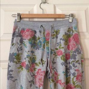 Pastel Floral Sweatpants