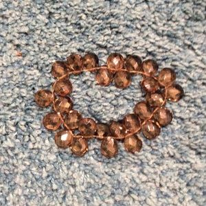 Jewelry - Smoky topaz stretch bracelet