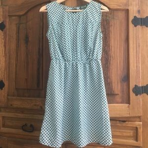 Maude Dresses & Skirts - Maude sleeveless mint and brown heart dress