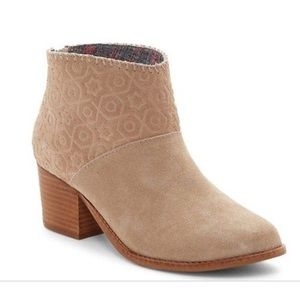 TOMS Shoes - TOMS tan suede ankle boots -NWT- size 7.5