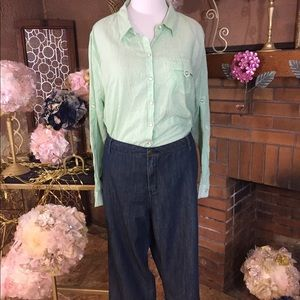 Avenue Denim - Avenue denim straight leg jeans size 24