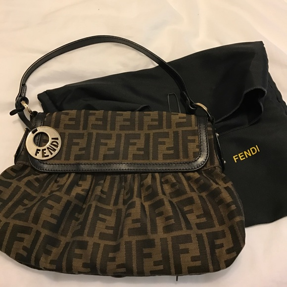 Fendi Bags   Authentic Zucca Chef Shoulder Bag   Poshmark 36c70a7235