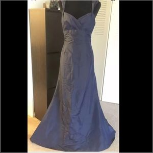 David's Bridal Dresses & Skirts - David's bridal navy occasional prom dress size 10