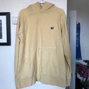 The Hundreds Other - The hundreds yellow pull over sweatshirt