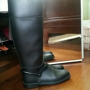 Givenchy Knee High Rain Boots (Size 9)