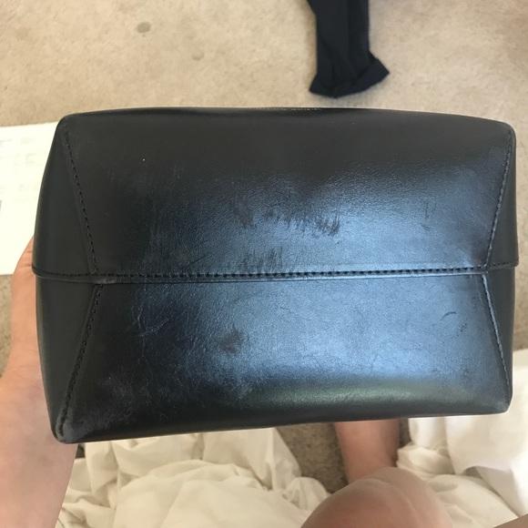 Mansur Gavriel Bags - Mini Mansur Gavriel Bucket Bag in black interior