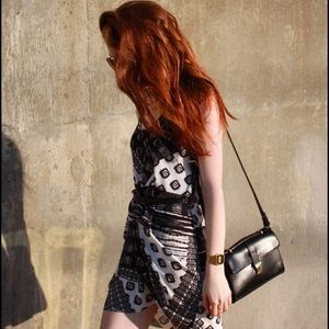 Zara Leather Shoulder Bag
