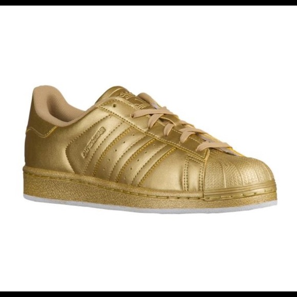 adidas Shoes - BRAND NEW all gold Superstar adidas✨ 894b6f91f