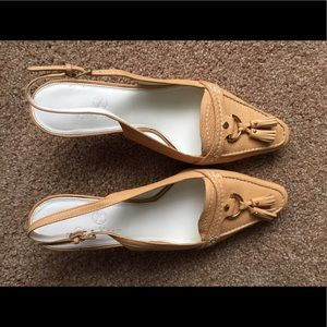 Cole Haan Shoes - Cole Haan neutral Slingback