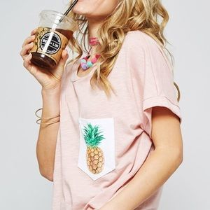 Bea Bella Couture  Tops - 🆕Just in! Graphic pineapple Tee