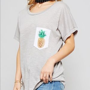 Bea Bella Couture Tops - 🆕 Just in! Graphic Pineapple Tee