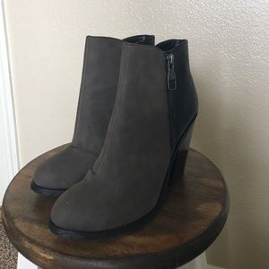 Call It Spring Shoes - Suede dark gray booties