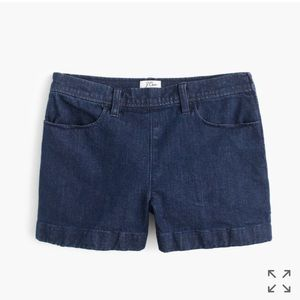 J. Crew Pants - J. Crew Side Zip Denim Shorts