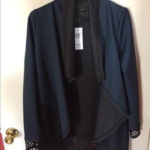 Alala Jackets & Blazers - Alala Blanket Jacket in Poseidon Blue