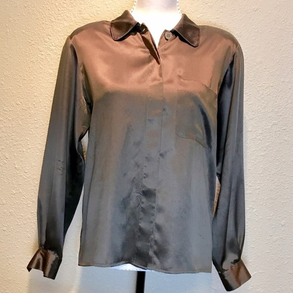 a04a6fdaf86af8 Christian Dior Tops - Stylish Christian Dior Silk Top! *PRICE DROP!*