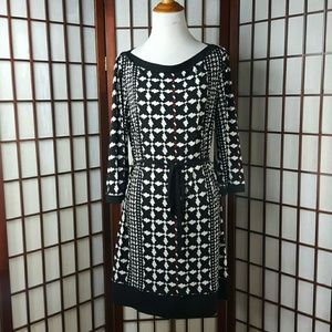 Laundry by Design Dresses & Skirts - Laundry by Design Geometric 3/4 sleeve Dress