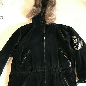 Bogner Jackets & Blazers - BLACK VELOUR SKI BOGNER COAT!!!
