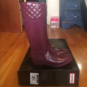 Hunter Boots Shoes - Lined Hunter Rain Boots