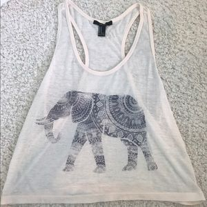 Elephant Boho Racerback Top