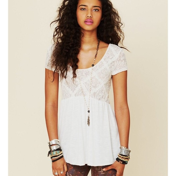 4675fe80362424 Free People Tops - ✂ 🔥SALE🔥✂ Free People White Extreme Babydoll